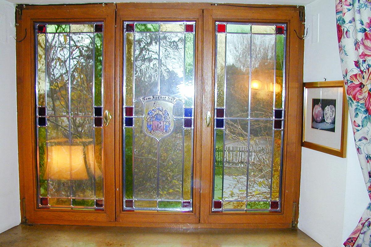 restauriertes Fenster