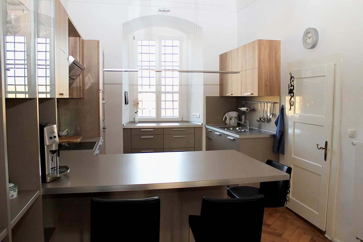 Einbauküche in einem Gutshof