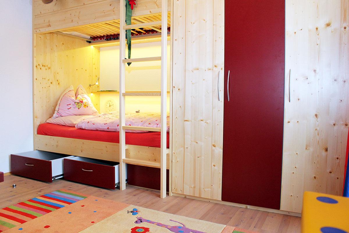 Hochbett für Kinderzimmer