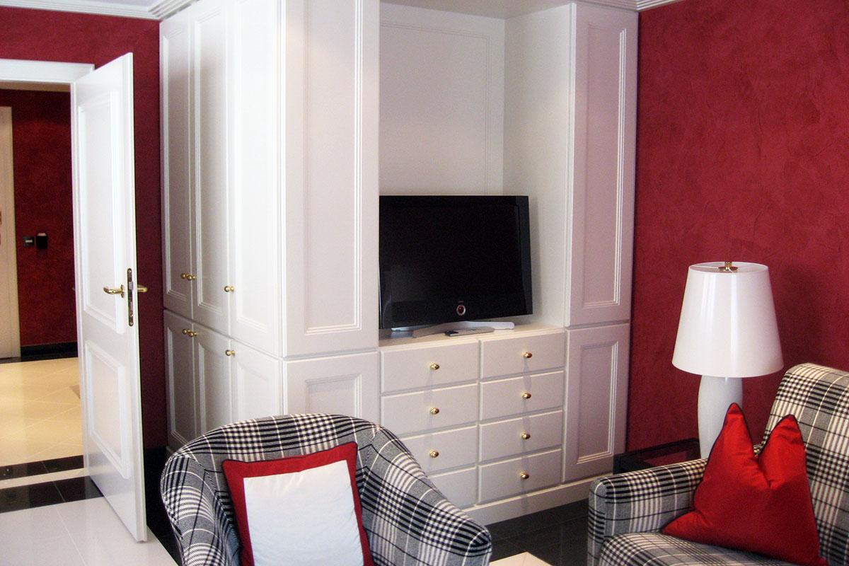 Einbauschrank Hotelzimmer