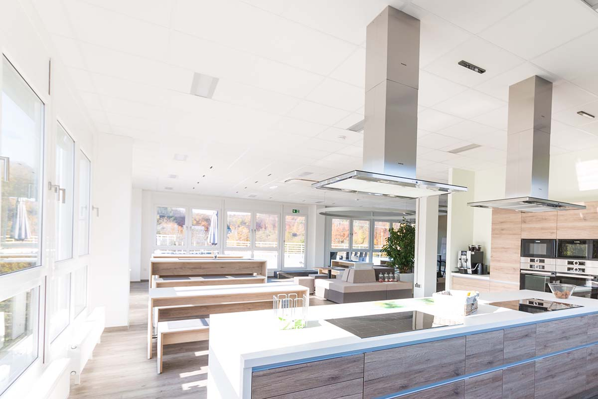 Mitarbeiterküche bei IT Firma