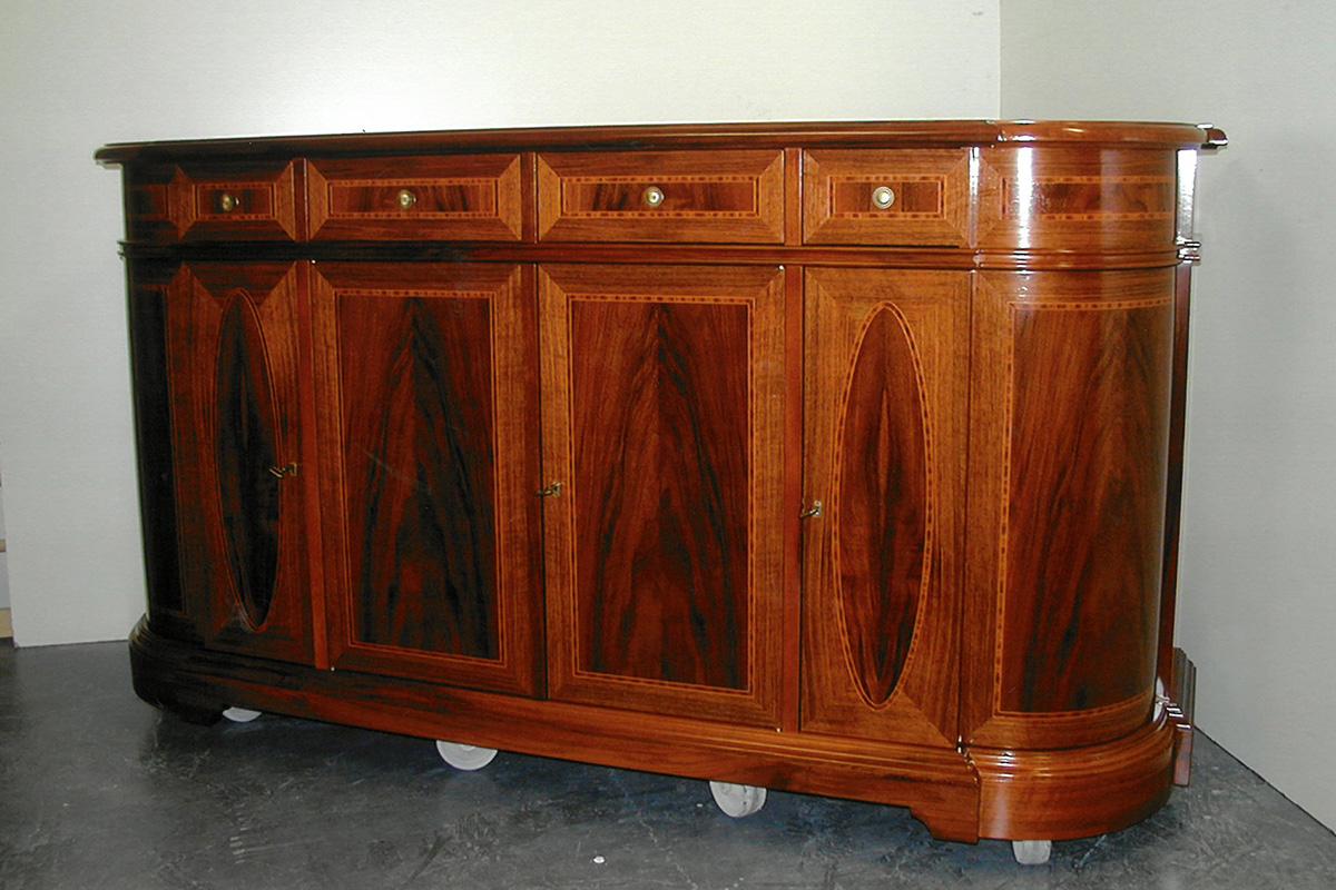 restaurierte Kommode
