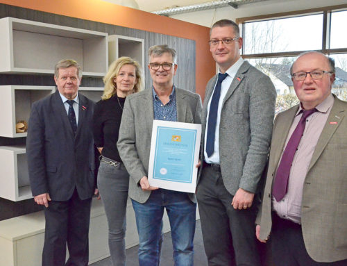 Handwerkskammer ehrt Rainer Korder