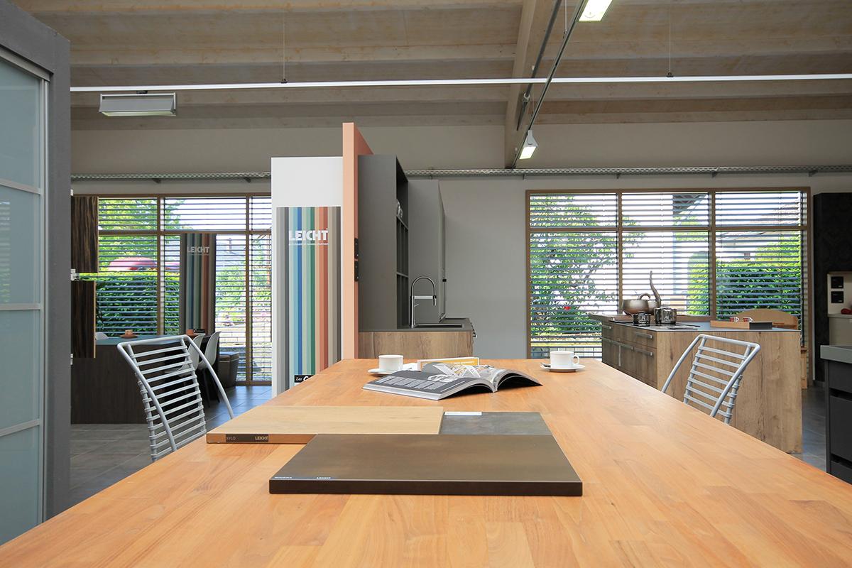 Beratungsplatz im Küchenstudio