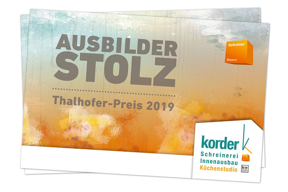 AusbilderStolz Thalhofer-Preis 2019