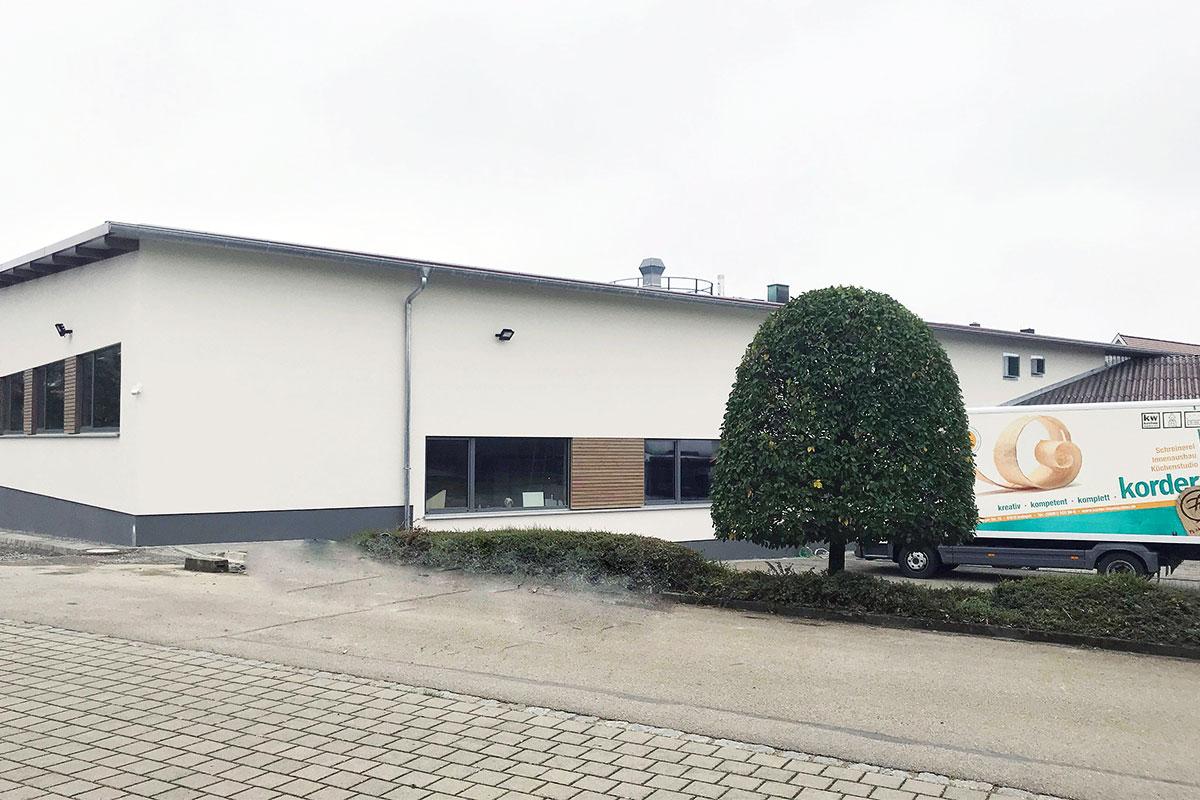 Neubau der Maschinenhalle 2018